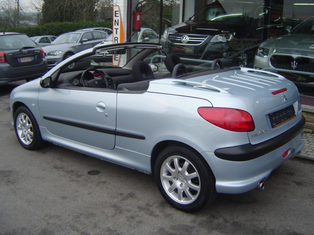 peugeot 206 cc coup cabriolet. Black Bedroom Furniture Sets. Home Design Ideas
